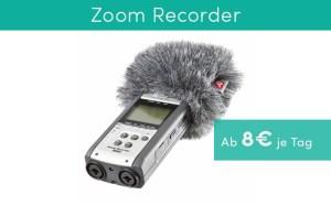 Ton beim Filmen Recorder