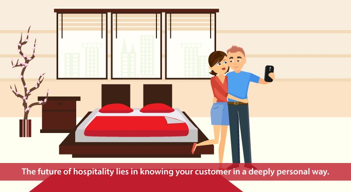 Future of hospitality - know your customer in a deeply personal way