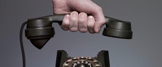Just hang up