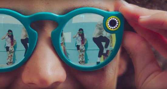 Snapchat announces video recording glasses
