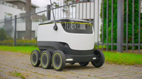 Are delivery robots the future of safety?