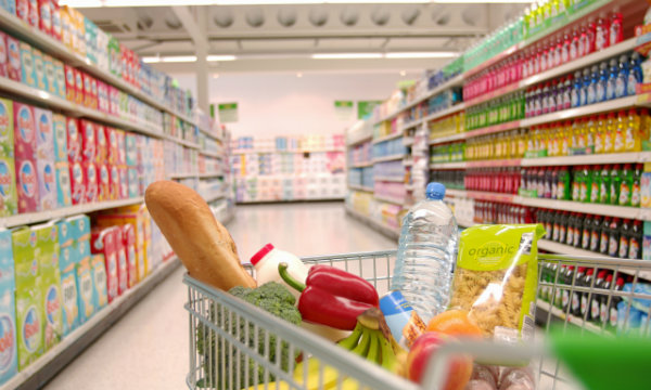 Can supermarkets save the mall?