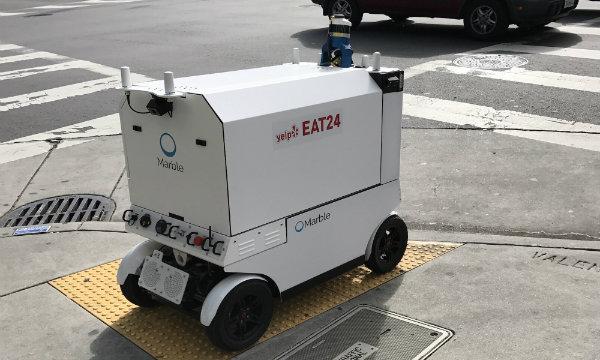 San Francisco bans delivery robots