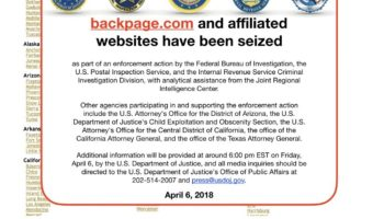 Update On Facebook And Parliament And Delaware Suing To Dissolve Backpages Llcs
