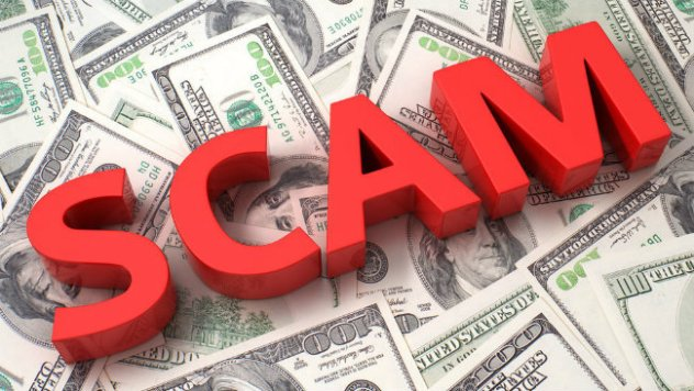 Check out this bizarre double scam!