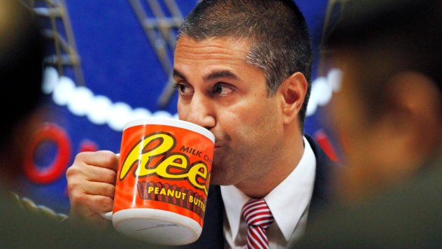 Ajit Pai celebrates bipartisan defeat of net neutrality, except that's not what happened