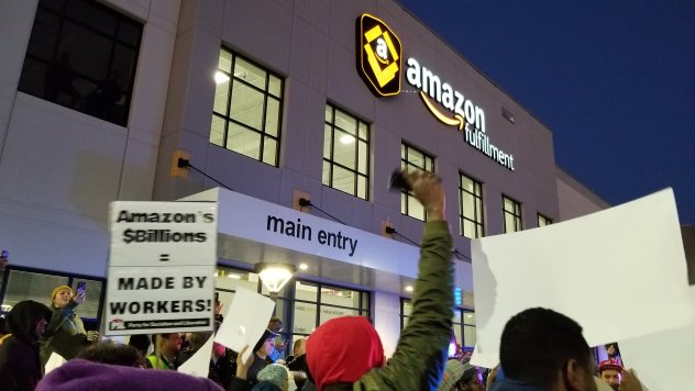 Amazon workers need consumers to support strike!