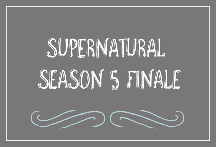 Supernatural Season 5 Finale