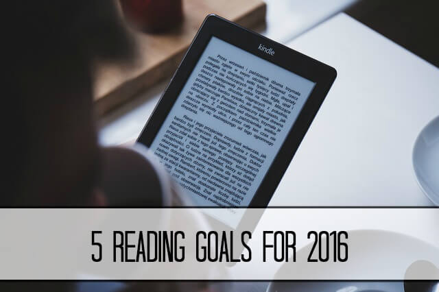 5 reading goals for 2016