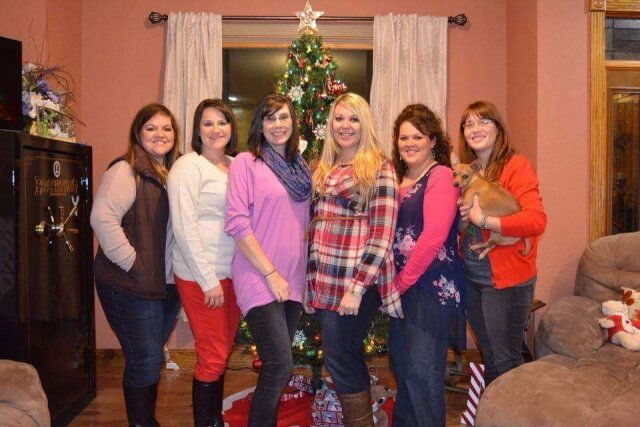 Brooke, Alison, Paige, Ashley, Christin, Buffy, Me.