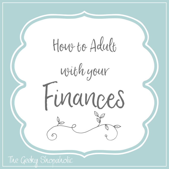 How to Adult with your Finances