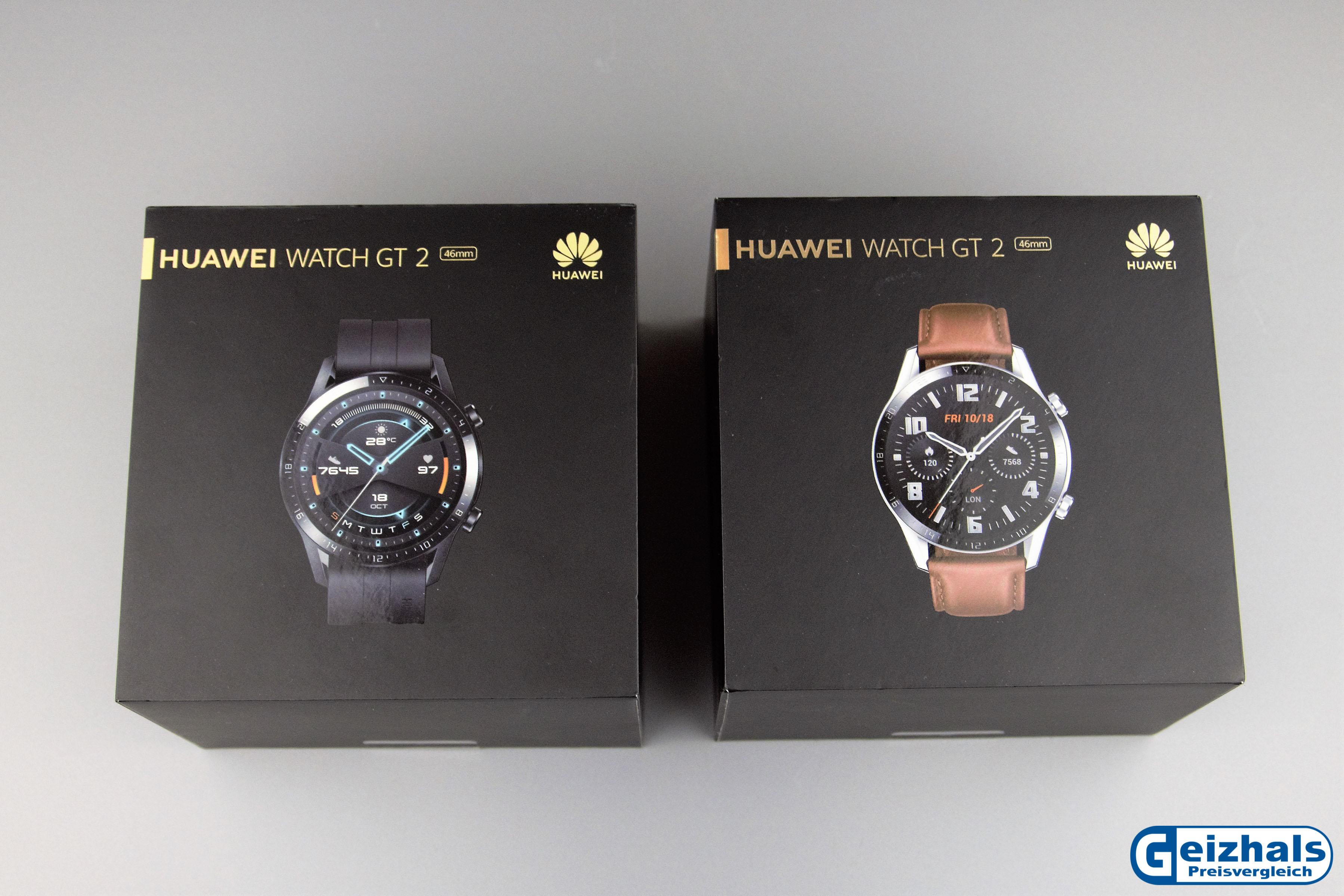 Verpackung der Huawei Watch GT 2