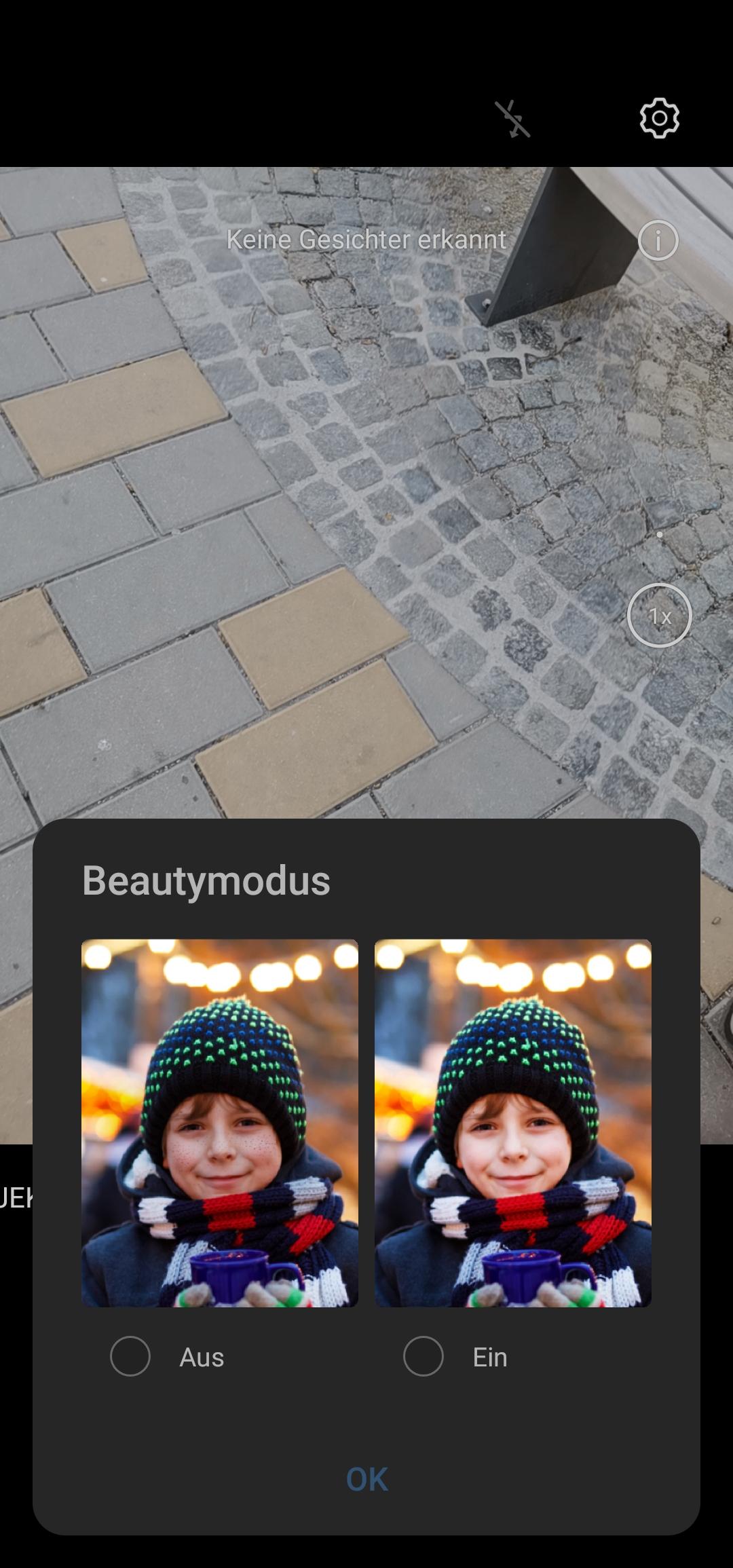 Beautymodus: besser deaktivieren