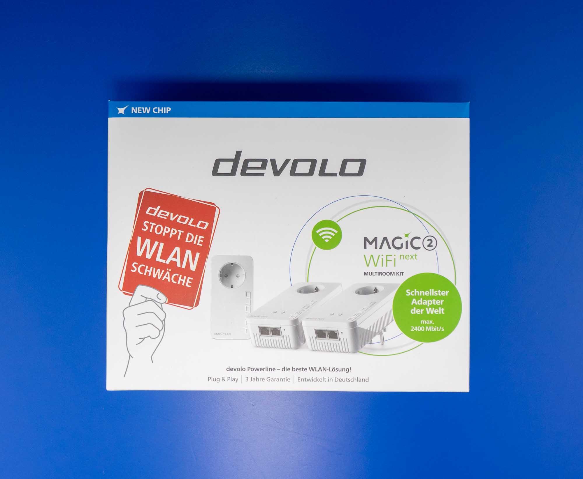 Verpackung devolo Magic 2 WiFi next Multiroom-Set