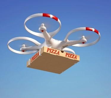 Drone food deliveries