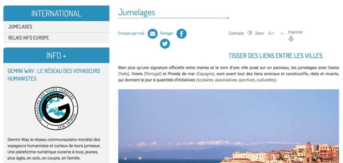 Nouveau site Internet de Frontignan