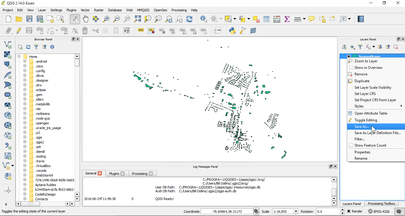 Publishing GeoPackage to GeoServer Using QGIS