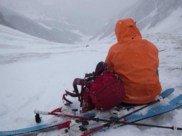 170603 急斜面を登ったところで敗退