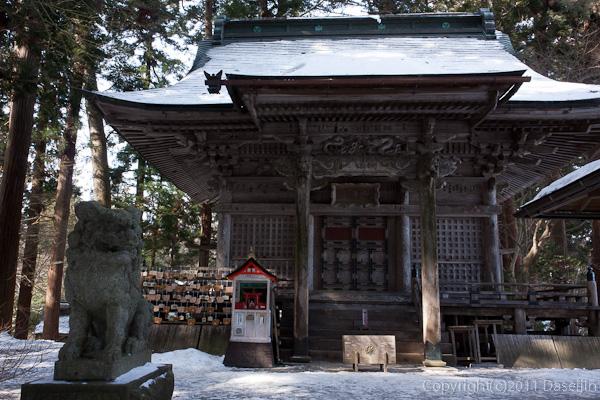 120213世界遺産平泉・中尊寺弁慶堂