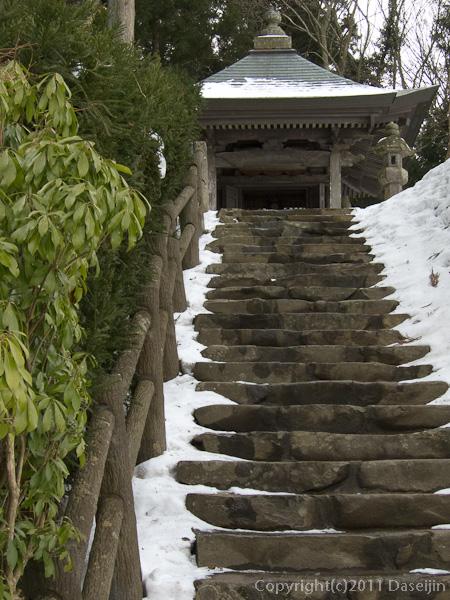 120213世界遺産平泉・高館義経堂