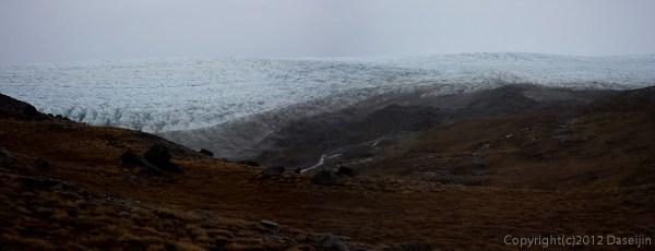 120814アイスランド、グリーンランドの旅・Russells Gletscher