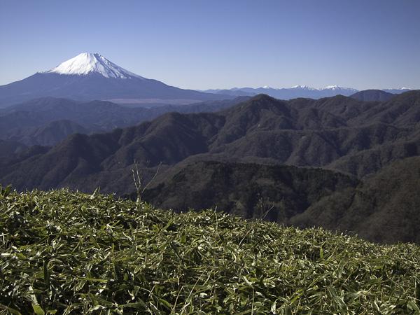 111204丹沢・富士山から南アルプス