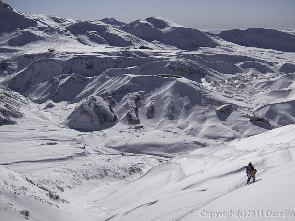 111126立山スキー・雷鳥沢