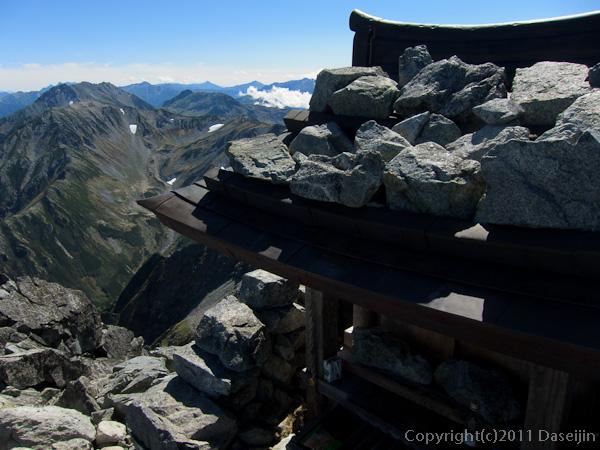 110924剱岳山頂