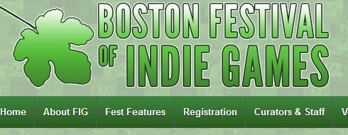 Boston Festival of Indie Games!