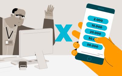 Bancos x Plataforma Online: 6 fatores a considerar ao pedir empréstimo fácil