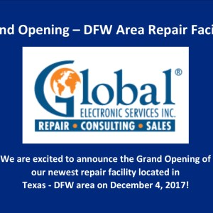 Grand Opening Coming Soon - New Repair Facility in the DFW Area