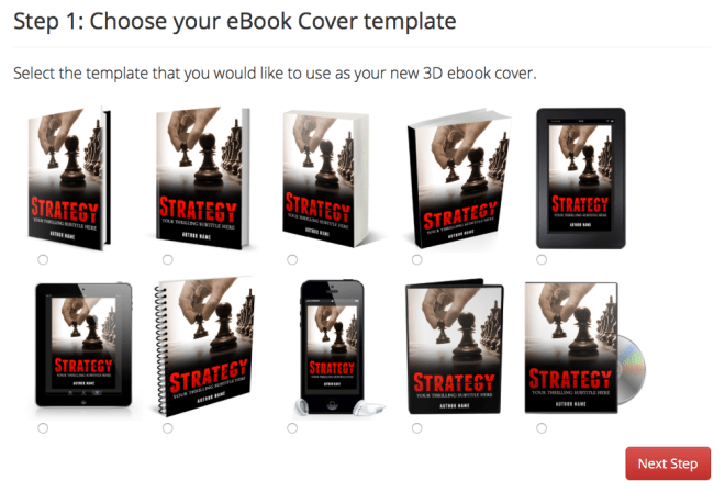 Adazing Ebook Cover Creator