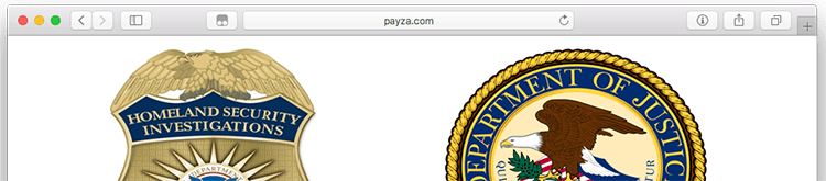 Critical Update:  Payza.com seized by DOJ, ending support immediately