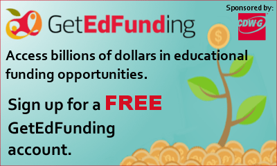 Sign up for a free GetEdFunding account