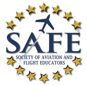 Society of Aviation and Flight Educators Logo