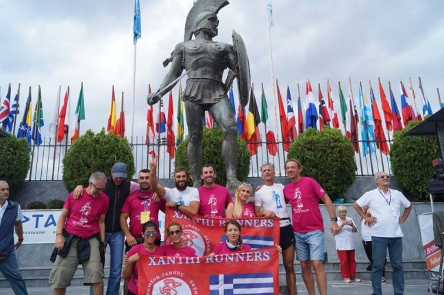 toughest running events - After_race_celebration_in_Greece