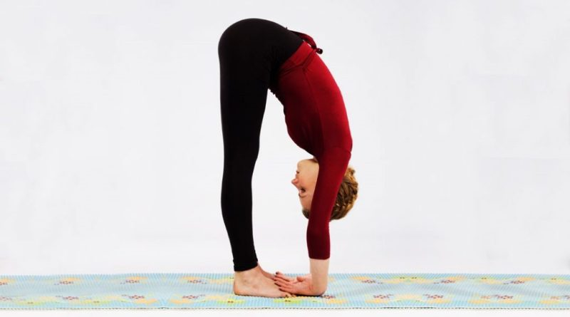 Forward Bending Pose: Yoga For Weight Loss