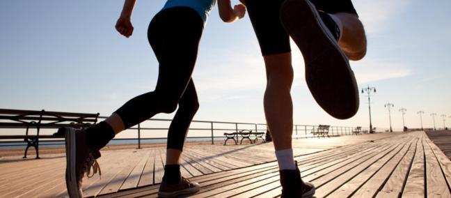 exercise for better sex - running