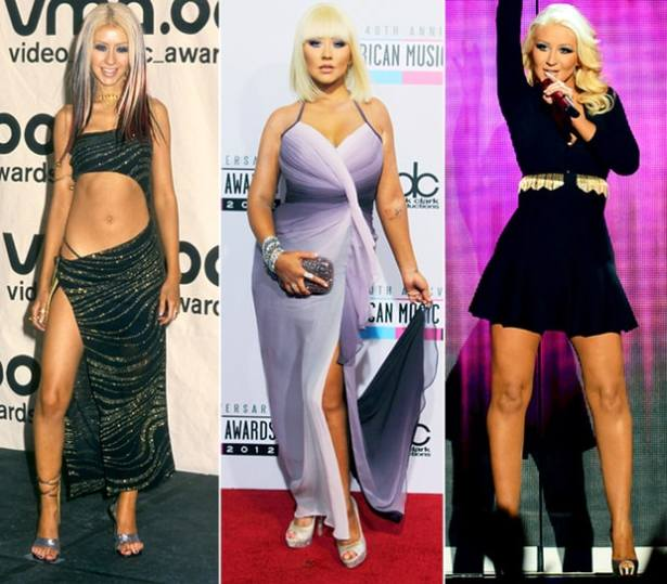 how did christina Aguilera lose weight