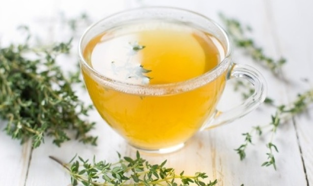 Home remedies for cough, Herbal tea, Thyme
