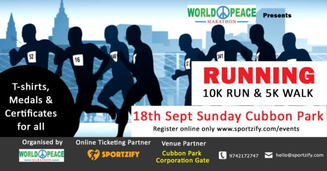 world peace running events