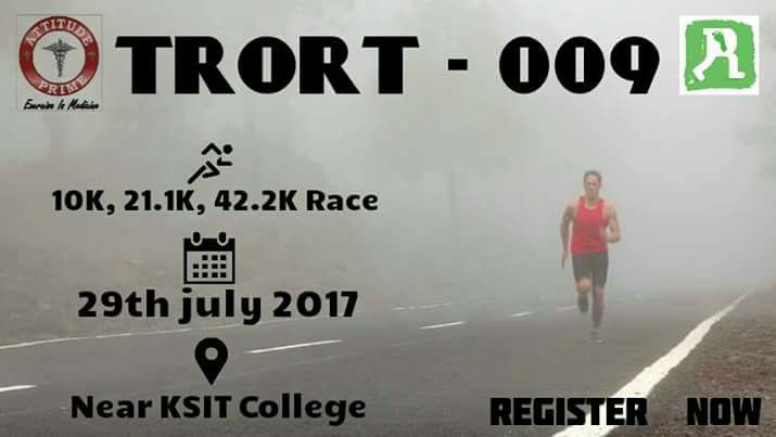 trot running events in bangalore