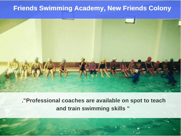 friends swimming academy : best swimming pool in delhi