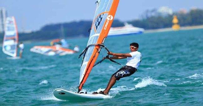 wind surfer sports in goa