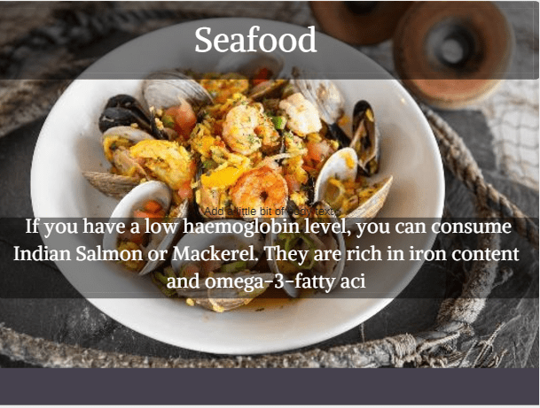 Sea food - Indian Protein Rich food option