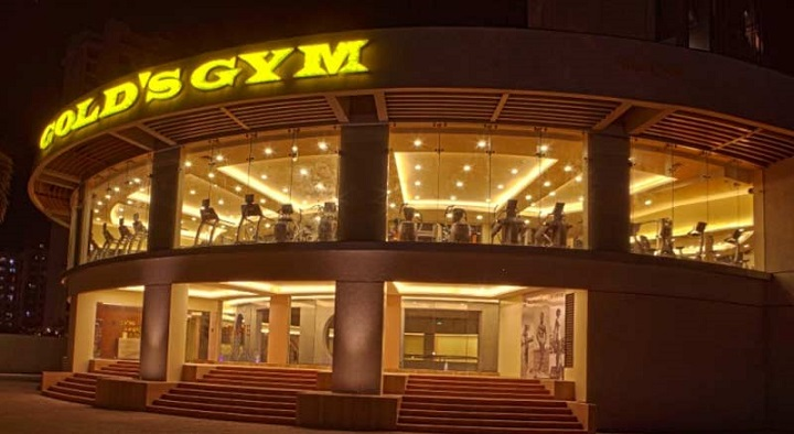 The gym zumba dance class and fitness center