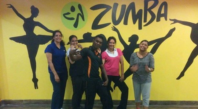 flame fitness: zumba classes in chennai