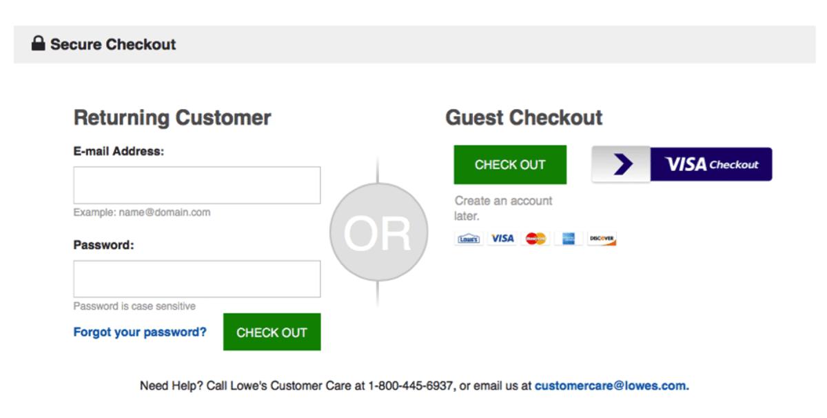 guest checkout disadvantages