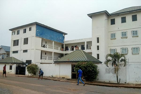 hostels in accra