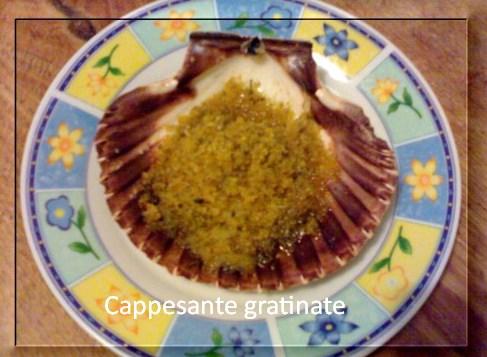 Capesante gratinate al forno